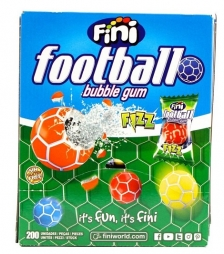Fini football bubble gum fizz