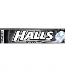 halls μασούρι extra strong
