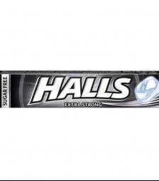 halls μασούρι extra strong
