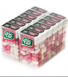 Tic tac strawberry mix 18gr