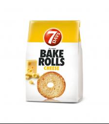 7Days Bake Rolls Τυρί 70gr