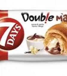 7Days double βανίλια-κακάο 80gr