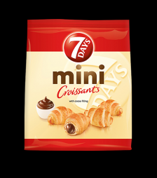 7Days mini croissant σοκολάτα 185gr