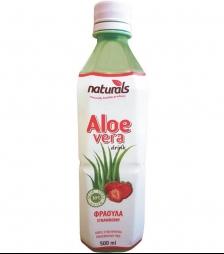 NATURAL aloe vera φράουλα 30% πολτός 500ml