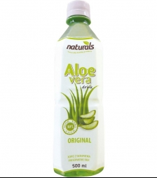 NATURAL aloe vera natural 30% πολτός 500ml