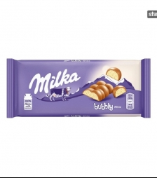 Milka 100gr bubbly white