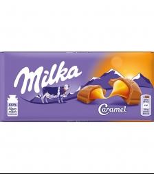 Milka 100gr caramel
