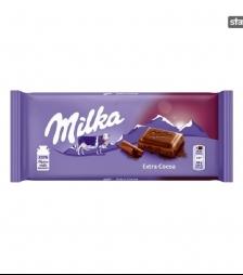 Milka 100gr extra cacao
