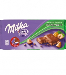 Milka 100gr φουντουκι
