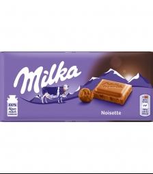 Milka 100gr noisette