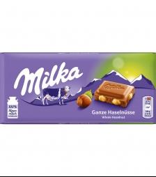 Milka 100gr ολοκληρο φουντουκι