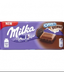 Milka 100gr oreo brownie
