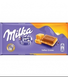 Milka 100gr toffee caramel