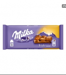 Milka 100gr triple caramel