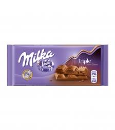 Milka 100gr triple choco