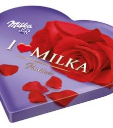 Milka καρδια